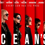"Film ""Oceans 8"", 6 Things I would like to keep before watching"
