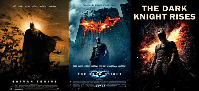 "Since rumors of a new movie ""Batman"" have also flowed, I tried to summarize the topic's trilogy and ""Batman"""