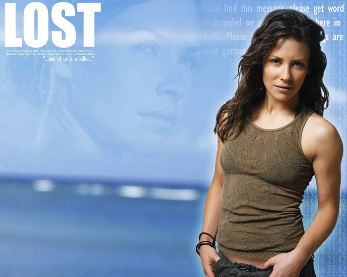 LOST Evangelin Lily as Kate's role