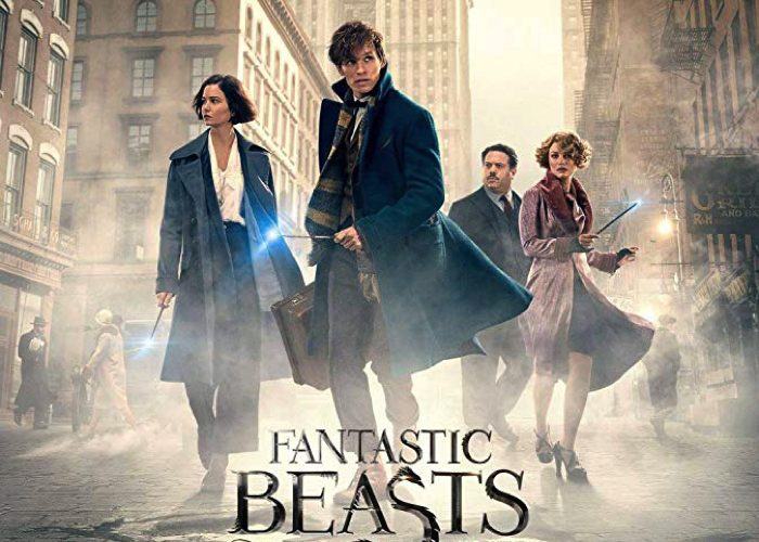 "The movie"" Fantastic Beasts And Where To Find Them "","" The Crimes of Grindelwald ""and"" Philosopher's Stone """
