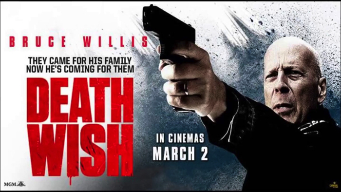 "Movie ""Death Wish (2018)"" impression (starring Bruce Willis)"