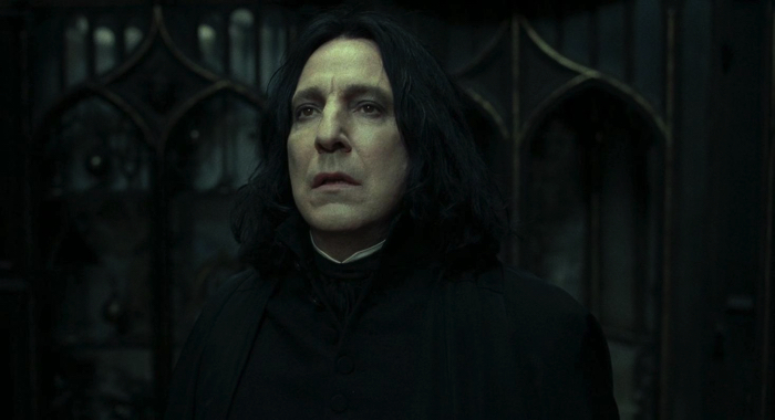 "Severus Snape from the movie ""Harry Potter and the Deathly Hallows - Part 2"""