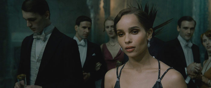 "Zoe Kravitz plays from movie ""Fantastic Beasts: The Crimes of Grindelwald"", Leta Lestrange"