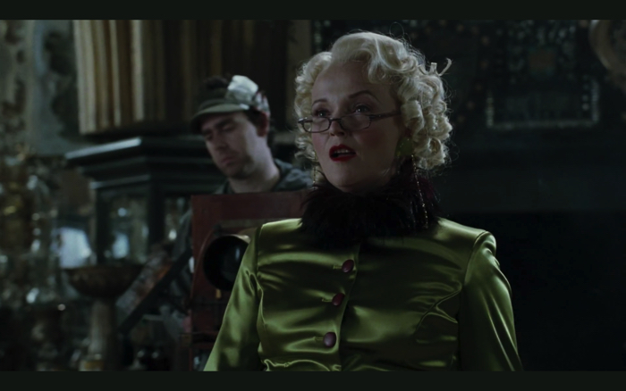 "Behind the movie ""Harry Potter and the Goblet of Fire"": Rita Skeeter"