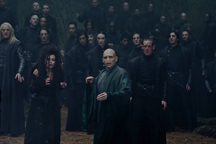 "From the movie ""Harry Potter and the Deathly Hallows - Part 2"" Central Lord Voldemort"