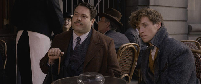"Dan Fogler plays from the movie ""Fantastic Beasts: The Crimes of Grindelwald"", Jacob Kowalski"