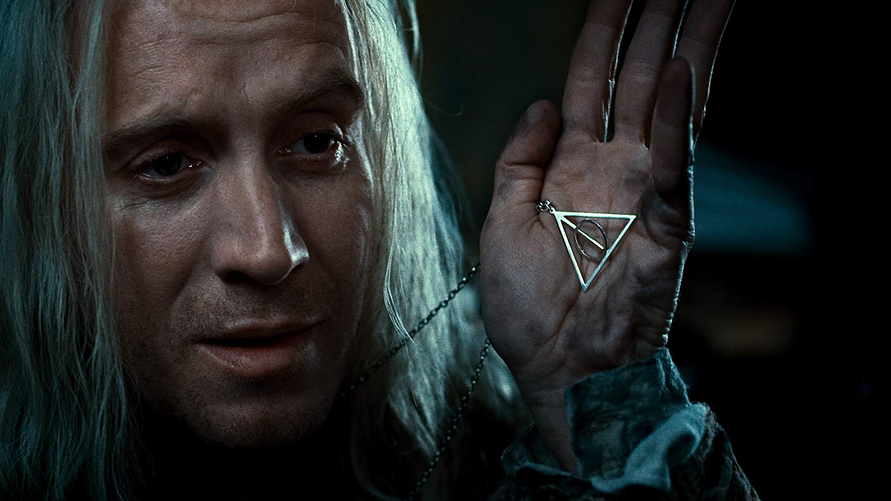 The symbol of The Deathly Hallows