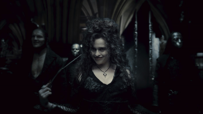 "From the movie ""Harry Potter and the Half - Blood Prince"" Bellatrix Lestrange"
