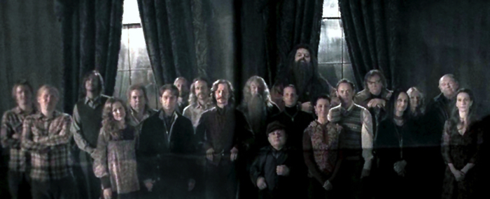 "From the film ""Harry Potter and the Order of the Phoenix"" Order of the Phoenix Phase 1 member photo"