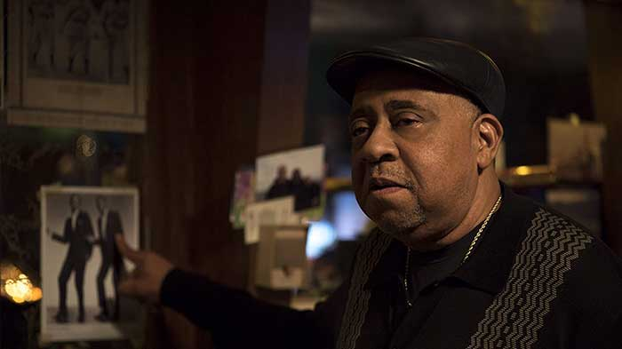 "Doc played by Barry Shabaka Henry from the movie ""Patterson"""